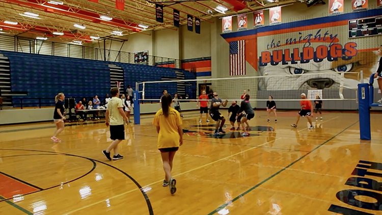 MHS wins charity volleyball tournament vs. North