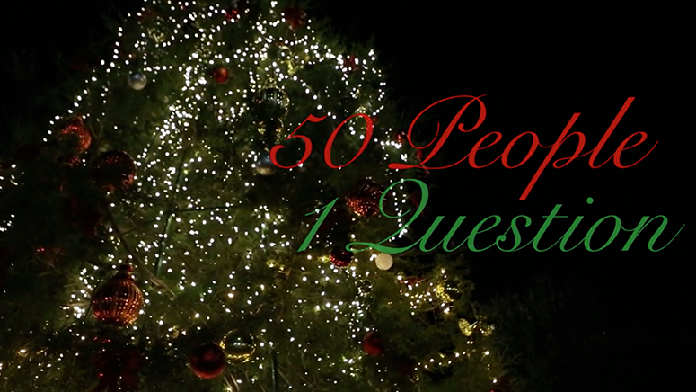 50 People 1 Question: holiday edition