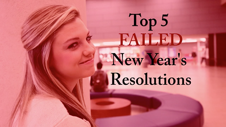 Top 5 failed New Year's resolutions