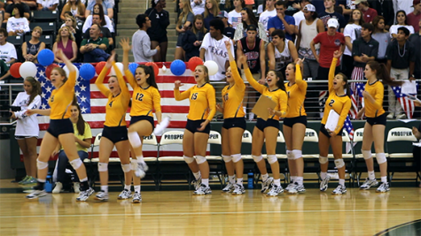 Lionettes fall to Prosper in 5 sets
