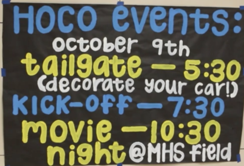 Student council plans slate of homecoming events