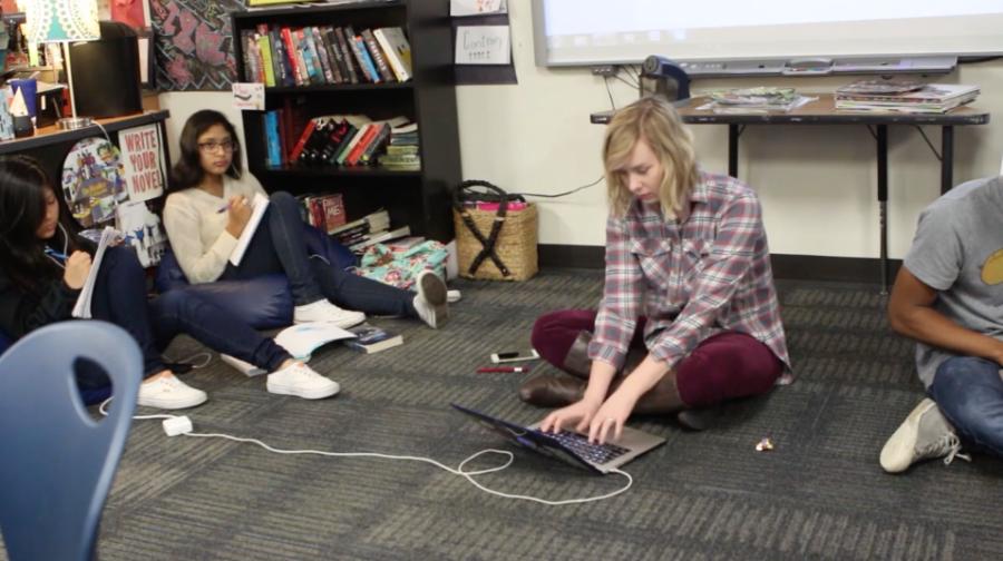 Students explore Creative Writing