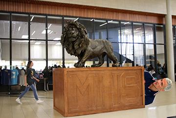 Top 10 things MHS is storing in the giant box underneath the lion in the front hallway