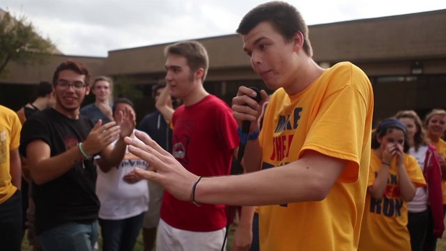 Broadcasting and yearbook create greatest beat the drum hour of all time