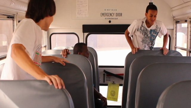 Hey, learn how to act right on the bus