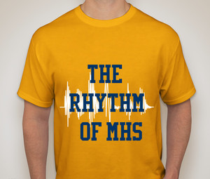 Drumline sells T-shirts to raise funds