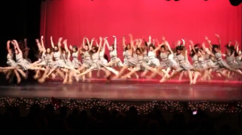 Dance teams perform in their winter recital