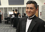 Orchestra students practice long hours before concert