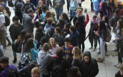 More than 670 students engage in walk out protesting gun violence