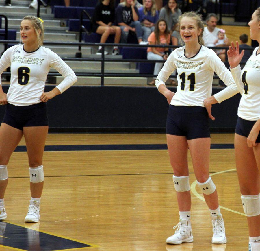 Volleyball freshman takes on varsity