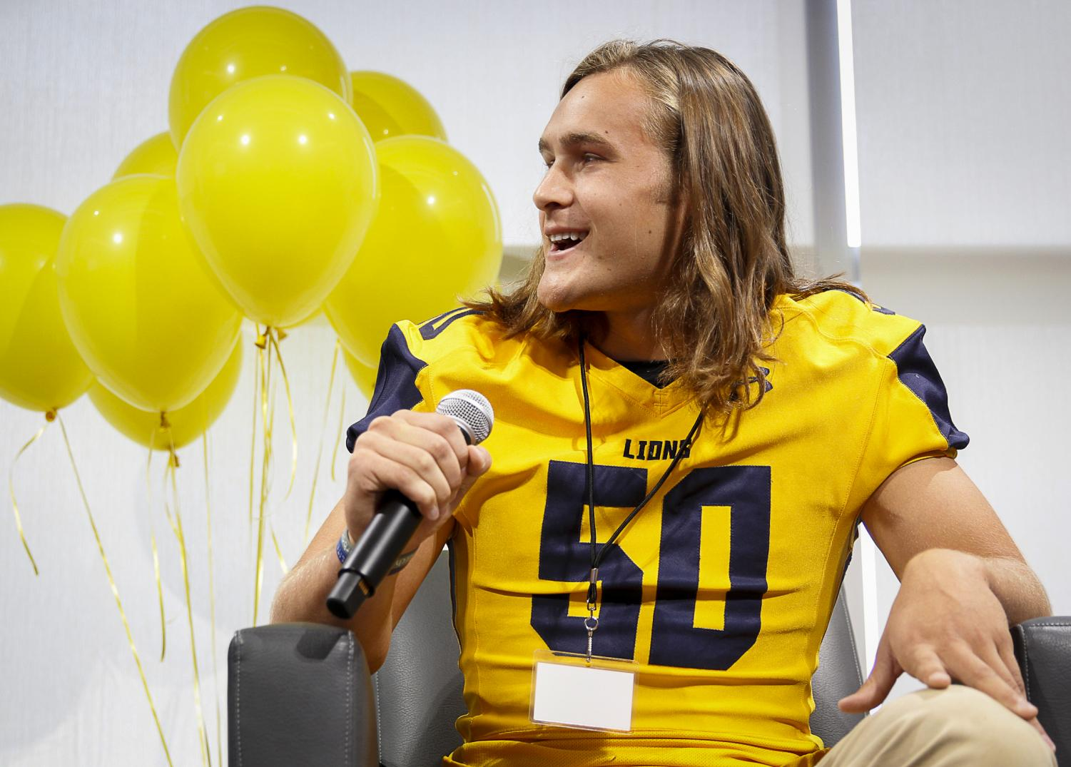 Mitchell Tyler explains what it is like being a captain for McKinney High's Varsity Football Team.