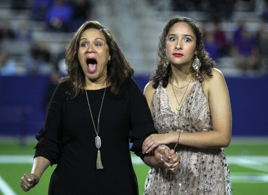 Michelle Garcia wins homecoming queen.