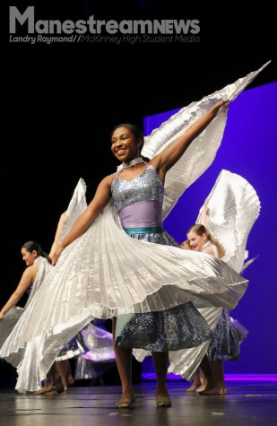 Brooke Belton performs during the Showcase of Dance.