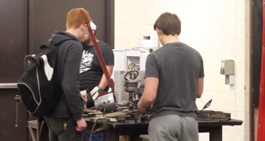 Welding class provides hot opportunities