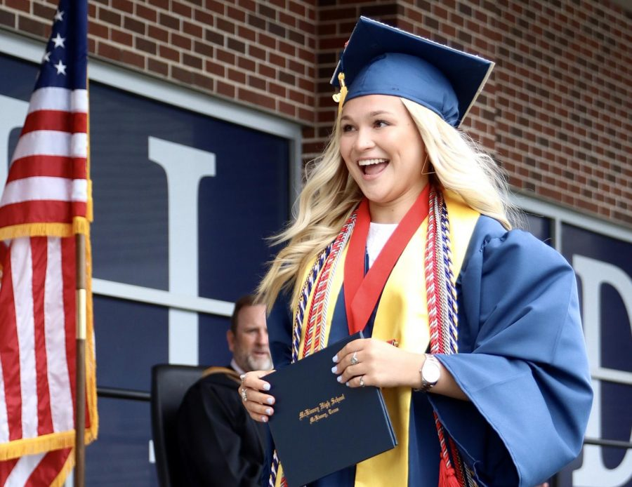 PHOTOS: District holds socially-distanced graduation for Class of 2020