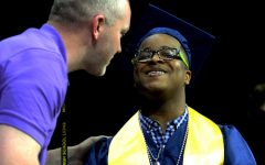 Navigation to Story: Class of 2021 walks stage at graduation